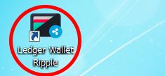 Ledger Wallet Rippleの起動